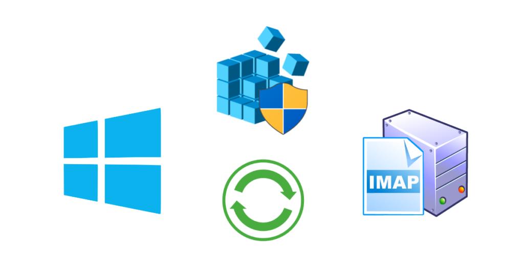 IMAP copy settings