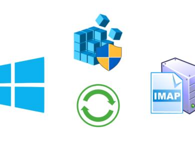 IMAP copy settings in Outlook